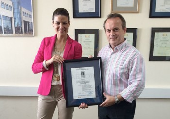 El INTROMAC recibe de AENOR el certificado de calidad de su Sistema de Gestión de I+D+i