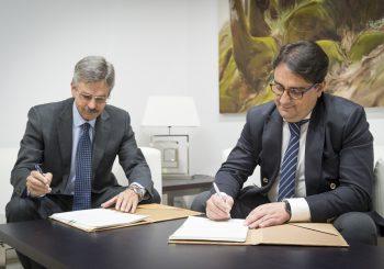 Navarro y Vergeles suscriben un convenio para impulsar la innovación en el sector de la construcción