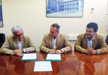 INTROMAC y el Colegio Oficial de Arquitectos de Extremadura firman un convenio para la cooperación en actividades técnicas, profesionales, divulgativas y formativas